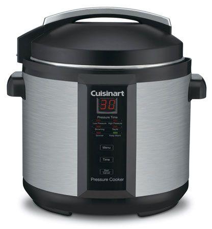 2. Cuisinart CPC-600 6 Quart Pressure Cooker