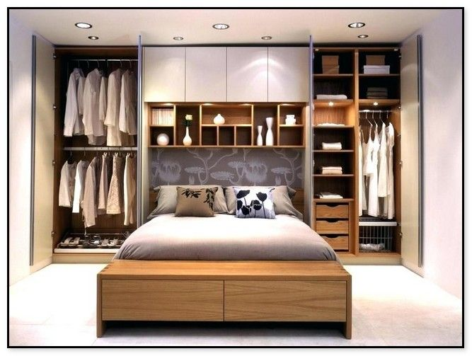 19 Cool And Creative Storage Ideas Small Bedroom Small Master Bedroom Decorating Ideas Master Bedroom Storage Ideas
