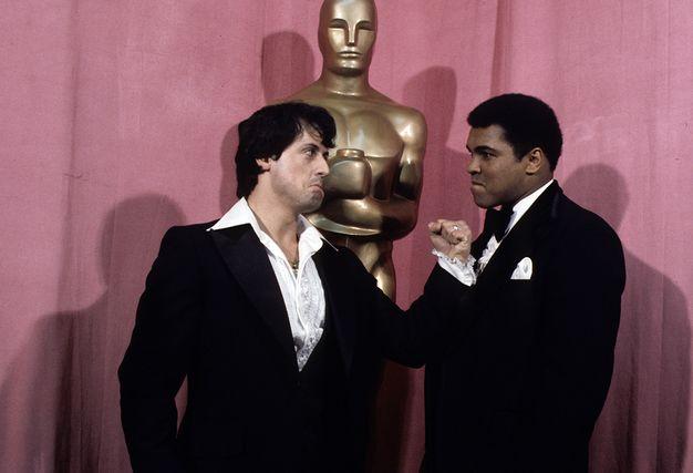 49ème cérémonie des Academy Awards, 1977 - #Rocky #SylvesterStallone #MohamedAli