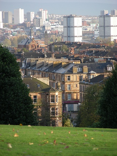 The view from Queen's Park, Glasgow, Scotland, United Kingdom, 2008, photograph by James Benedict Brown.