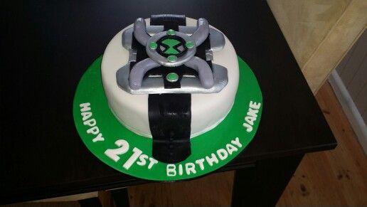 ben 10 watch cake