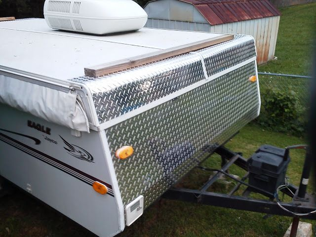 best ideas about pop up camper accessories new diamond plate front on coleman popup