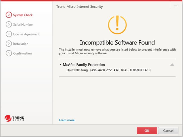 "Learn how to fix ""Incompatible Software Found"" issue while ‪#‎installing‬ ‪#‎TrendMicro‬ ‪#‎Security‬ software"