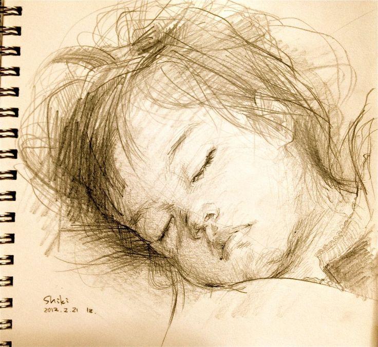 rough sketch, but so beautiful