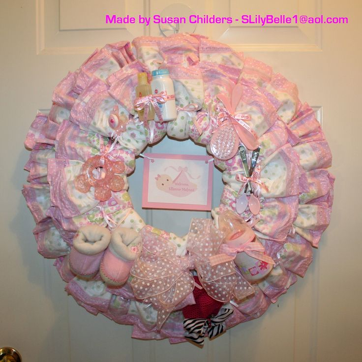 Things To Do With Diapers For A Baby Shower: Things I've Made