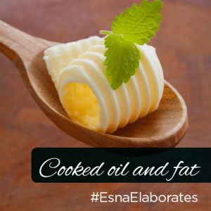 Since humans are water-based life form, it makes the metabolism of cooked oil very difficult. Read more about Cooked Oil and Fat on Esna Elaborates