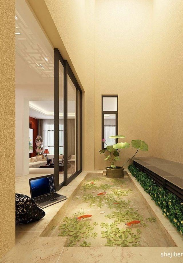 Japanese Foyer Design : Images about foyer on pinterest oriental design