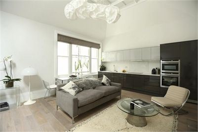 1 Bed Flat To Rent London SW7. These luxury open plan one bedroom apartments. With great attention to detail and modern furniture   throughout as well as a secure video door entry system   and 24 hour CCTV. Porter services are included as are all   utility bills.