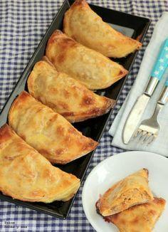 #Receta: Empanadillas de pollo asado. Receta para toda la familia http://www.bebesymas.com/recetas/empanadillas-de-pollo-asado-receta-para-toda-la-familia