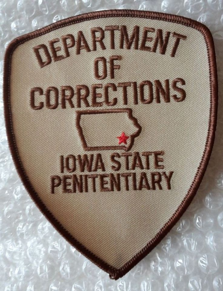 Details about Patch Iowa State Penitentiary Department of
