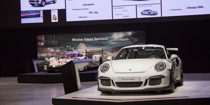 "Porsche ""Faszination Sportwagen – The Future of Performance"" – Berlin 2016 