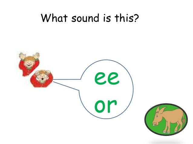 Jolly Phonics Ee