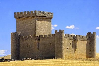 Castillo de Villalonso. Zamora. Spain