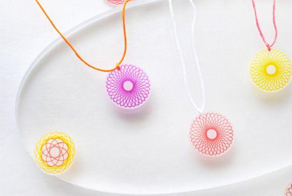 Kid Craft: Spirograph Necklaces
