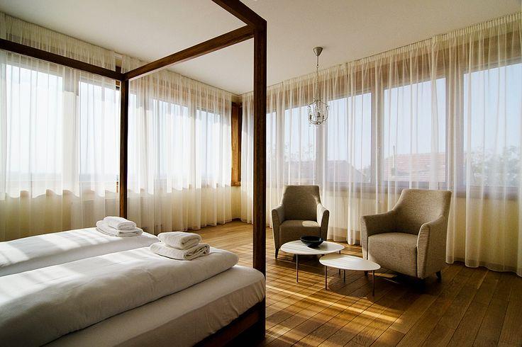 Vinársky hotel - relaxačný kútik