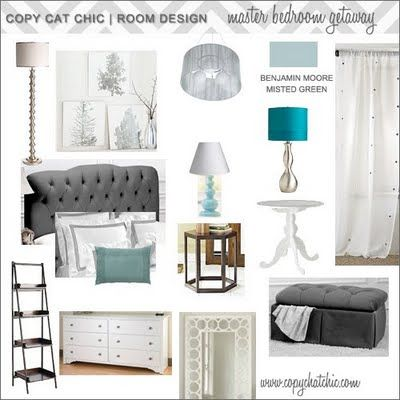 | Copy Cat Chic | chic for cheap: | Hollywood Glam Master Bedroom |