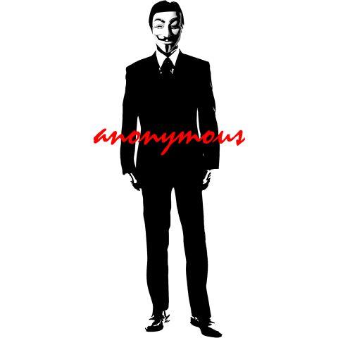 アノニマス (集団) anonymous    匿名掲示板やオンラインコミュニティを通じて生まれた、匿名のハッカー集団。  インターネットを通じてつながるハッカーたちのネットワーク。  メンバーは「抵抗と匿名の国際的シンボル」としてガイ・フォークスの仮面を被っている。