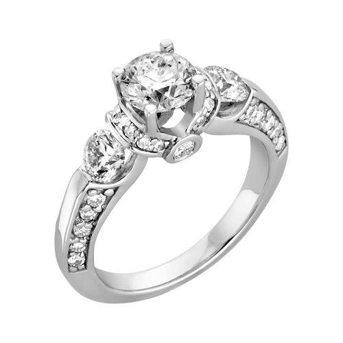 Amazing Fred Meyer Jewelers ct tw Diamond Wedding Ring