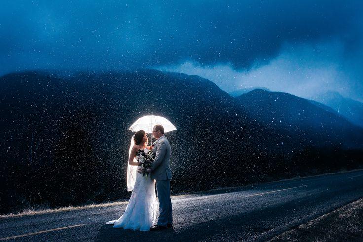 rain and mountain photos