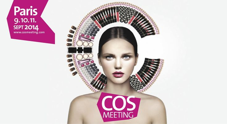 The 12th edition of COSMEETING Paris will be held on September 9, 10 & 11 2014 !  SAVE THE DATE !