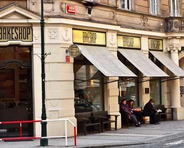 Exterier Kavárna a Bistro Bakeshop Praha