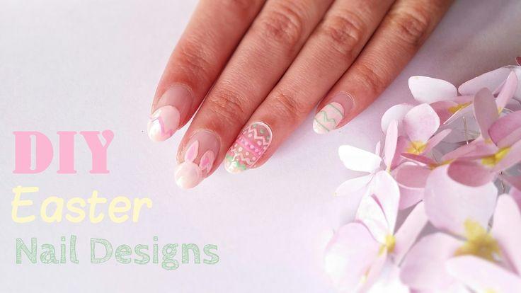 DIY Easter Nail Designs | DIY Σχέδια νυχιών για το Πάσχα
