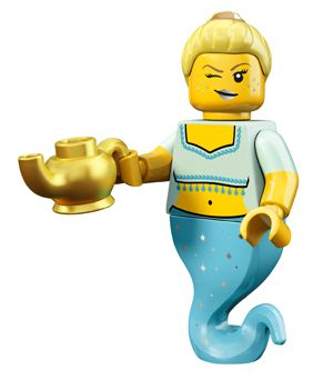 Genie Girl– Series 12 Minifigures All Minifigure packets will be opened to guarantee the correct Minifigure – Comes complete with opened packets leaflet, accessories and Unique code to unlock this minifigure in the LEGO Minifigures Online game
