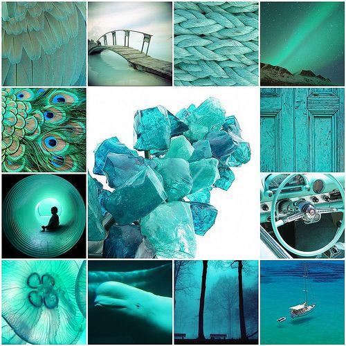 Aqua Mosaic - écoute le bruit du bleu, les clapotis de l'eau, la brise, les ailes des oiseaux, le sonar des dauphins...