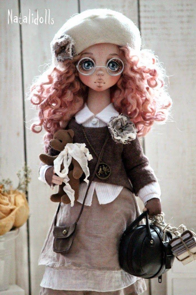 Наталья Подкидышева . Авторские текстильные куклы | Shop DESIGN IDEAS