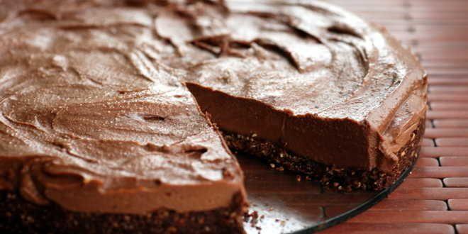 Ricette Pasqua 2017: Cheesecake al cioccolato senza cottura!