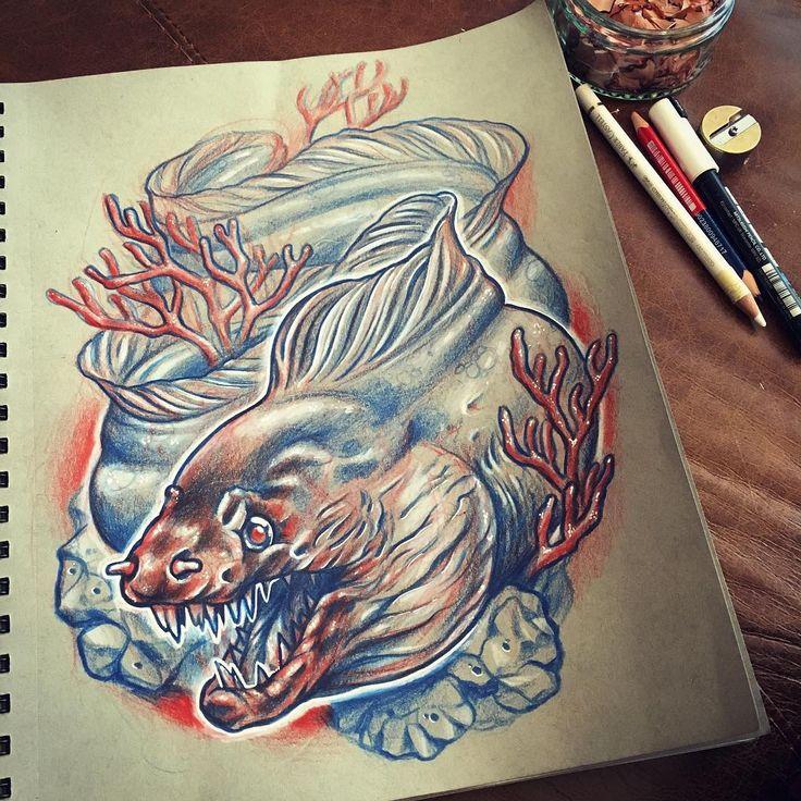 28 best mermaid figurines nicknacks images on pinterest for Electric 13 tattoo