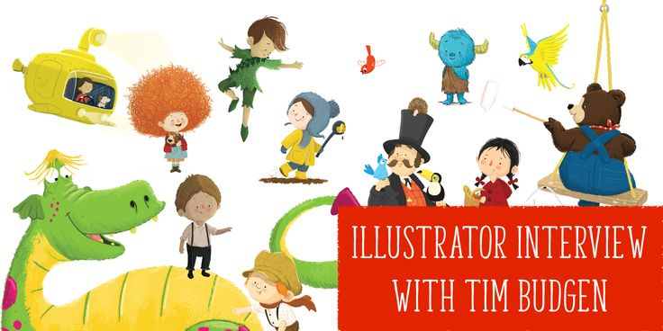 Get a real insight into being a children's illustrator: read our interview with @tbudgen here: http://www.storytimemagazine.com/news/inside-stories/illustrator-interview-tim-budgen/