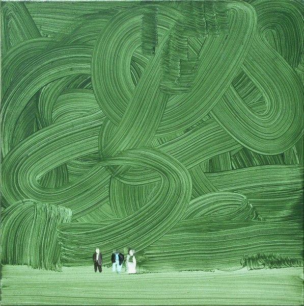 Alfius De Bux — Wilhelm Sasnal. Shoah (Forest), 2003 [source]