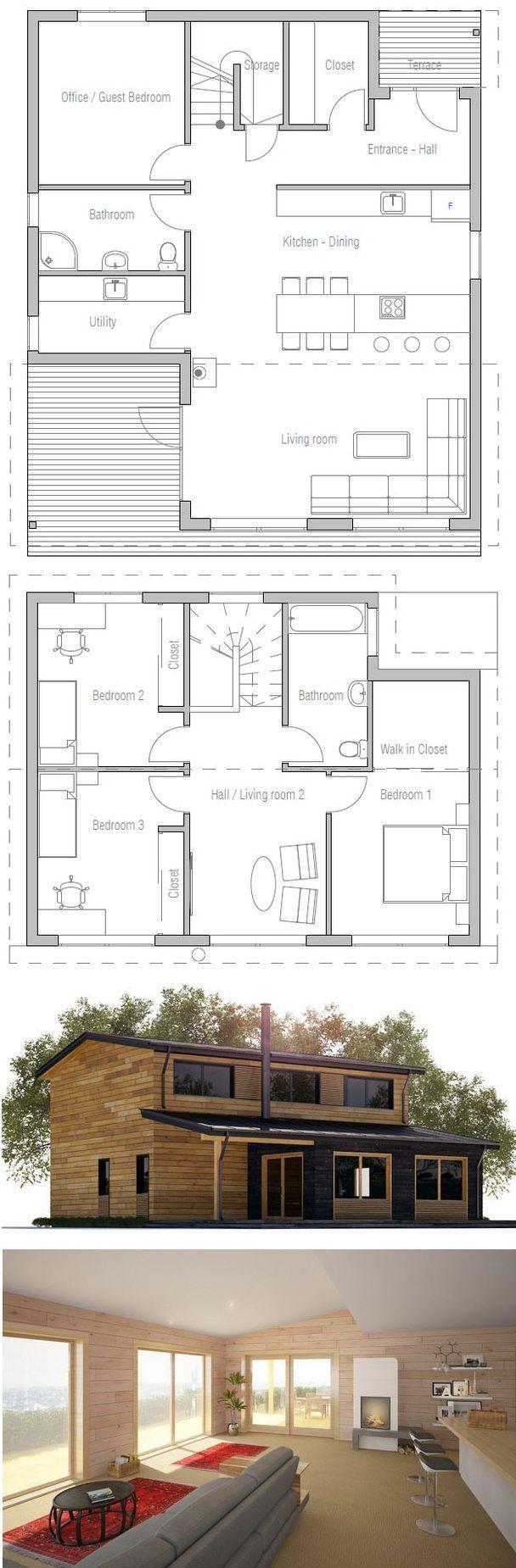 59 best modèles de maison jumelée plans de duplex plans de triplex de dessins drummond images on pinterest drawings duplex plans and garage plans