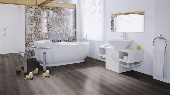 f r bad badezimmer wineo laguna connect designbelag clic parkett everglade oak 03 10 00031. Black Bedroom Furniture Sets. Home Design Ideas