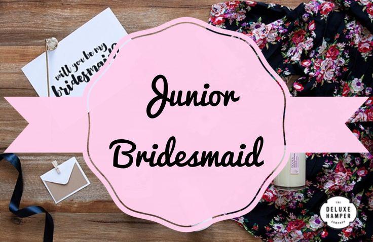 Will you be my Junior Bridesmaid ….. Satin Robe