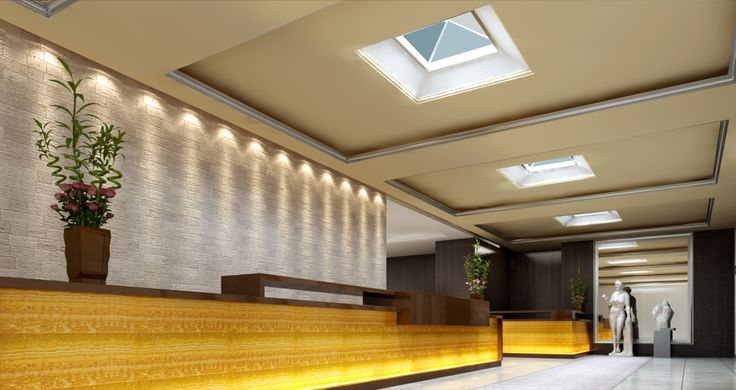 LED Skylights are great for high impact spaces, like lobbies.