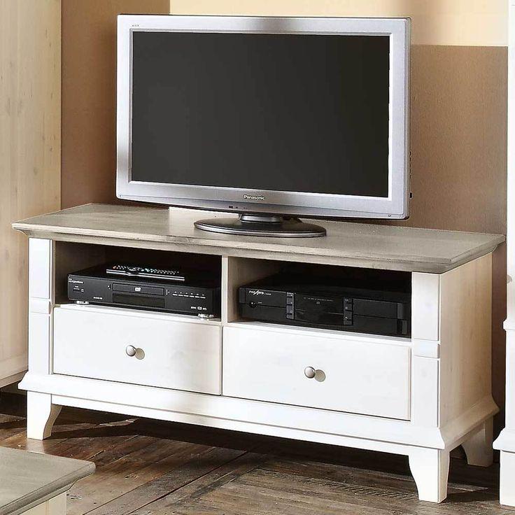 Epic TV Tisch in Wei Grau Jetzt bestellen unter https moebel ladendirekt de wohnzimmer tv hifi moebel tv lowboards uid udcc b b bd