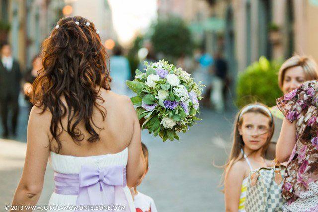 Красивая свадьба в Тоскане: любовь и подсолнухи на вилле Pian di Vico