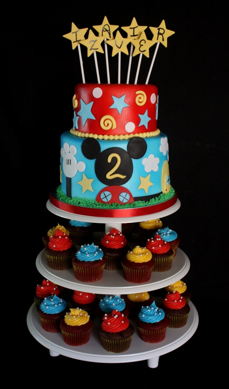 Mickey Mouse Clubhouse cake...for bretts birthday?