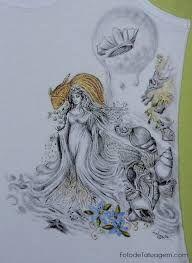Resultado de imagem para iemanja tatuagem
