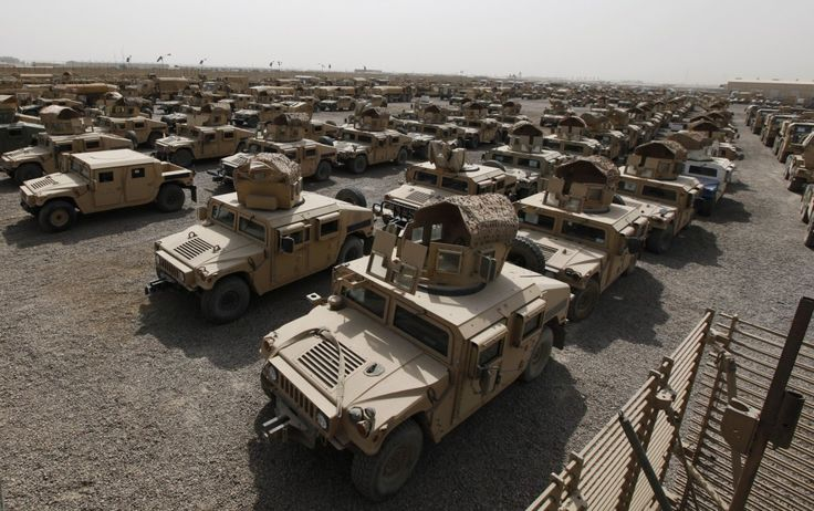 Iraqi security forces lost 2,300 Humvee armored vehicles when Islamic State overran the northern city of Mosul in June 2014, Prime Minister Haider al-Abadi said on Sunday in an interview with Iraqiya state television. Coupled with previous losses of American weapons, the conclusion is simple: The United States is effectively supplying Islamic State with tools of war the militant group cannot otherwise hope to acquire from its patrons.