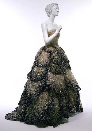 Junon gown by Christian Dior, 1949. Image from the Metropolitan Museum of Art.