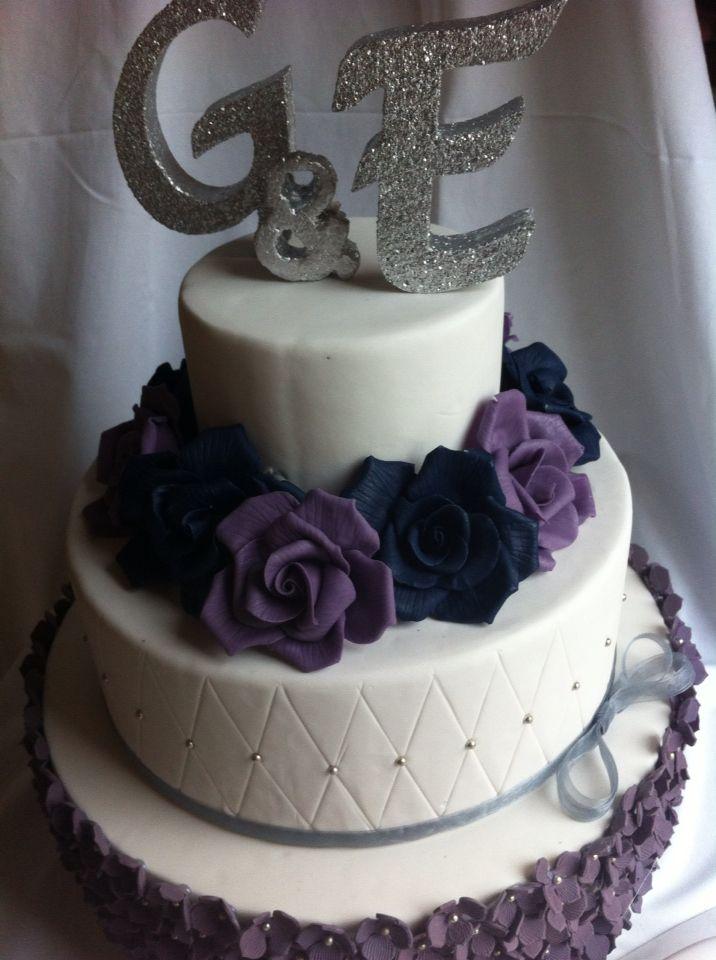 3 katlı nişan pastası