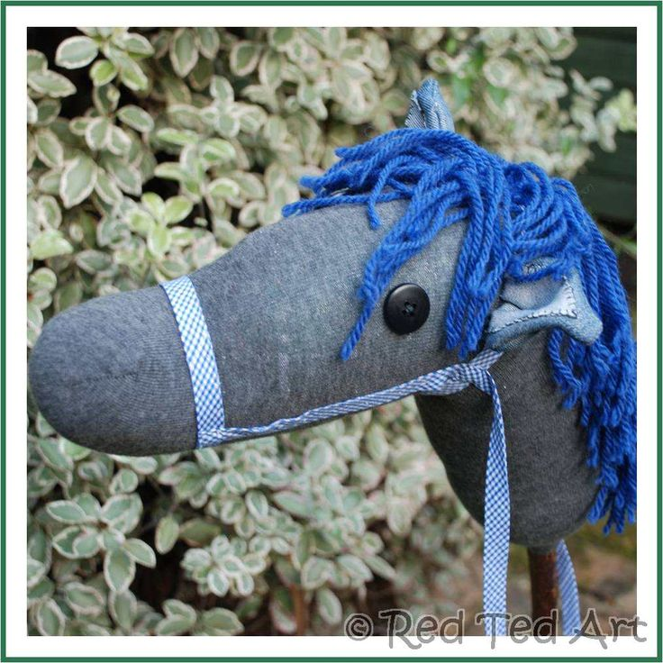 DIY Hobby Horse. What is your favourite Sock Creature? We have made an Octopus, a Monkey a Bunny... but I think I like the horse best!!