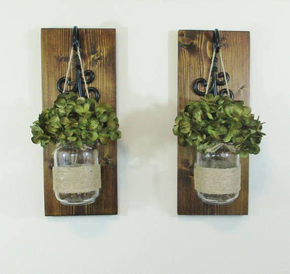 Mason Jar Wall Decor Hobby Lobby : Best mason jar sconce ideas on