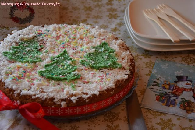 Νόστιμες κ Υγιεινές Συνταγές: Vegan Βασιλόπιτα κέικ, καρύδα- λεμόνι