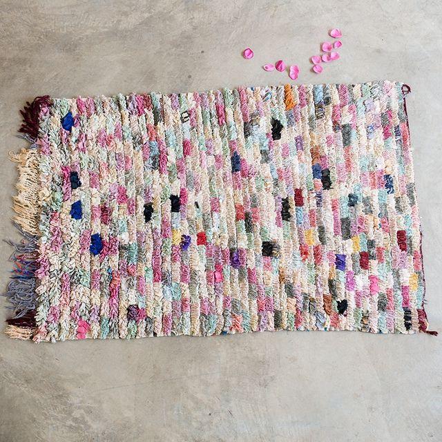 Boucherouite Rug Trend by decor8, via Flickr