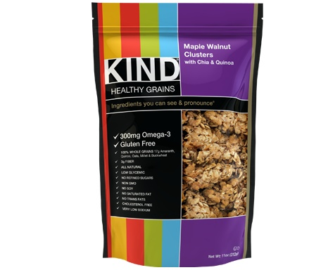 KIND Granola~Lower in sugar than other granola brands, plus tastes great too!