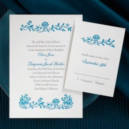 DIY Wedding Invitation; Wedding Invitations Kits